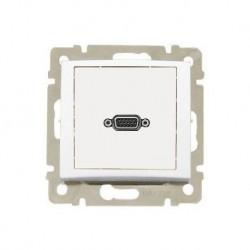 Legrand Valena - Video zásuvka HD 15, biela - 770083