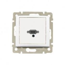 Legrand Valena - Zásuvka HD 15 + jack 3,5mm, biela - 770082