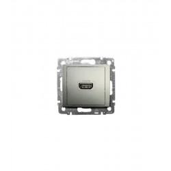 Legrand Valena - Zásuvka HDMI typ A, v1.3, hliník - 770285