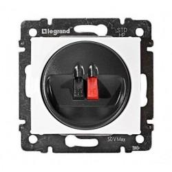 Legrand Valena - Jednoduchá reproduktorová zásuvka, biela - 774223