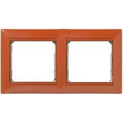 Legrand Valena - Dvojnásobný rámik, meď - 770012
