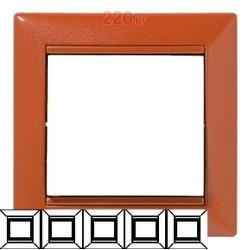 Legrand Valena - Päťnásobný rámik, meď - 770015