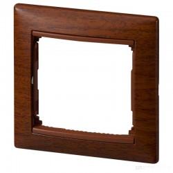 Legrand Valena - Jednoduchý rámik, drevo tónované - 770311