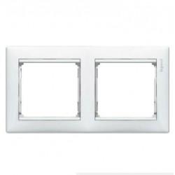 Legrand Valena - Dvojnásobný rámik, biela - 774452