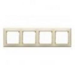 Legrand Valena - Štvornásobný rámik, perleť jemná - 770474