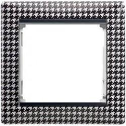 Legrand Valena - Jednoduchý rámik, pepitová - 770420