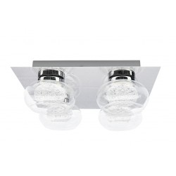 Rábalux KARISSA 6229 stropné svietidlo LED,  4 x 4,8W, 4 x 384lm, 4000K