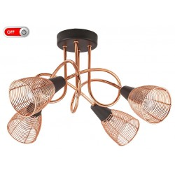 Rábalux VERONICA 6036 Stropné svietidlo, E14 4x max. 40W