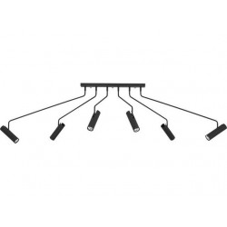 Nowodvorski 6505 EYE SUPER black, stropné svietidlo