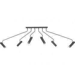 Nowodvorski 6498 EYE SUPER graphite, stropné svietidlo