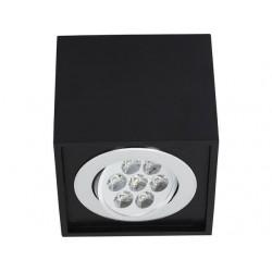 Nowodvorski 6427 BOX LED 7W, black, stropné