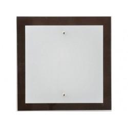 Nowodvorski 2902 OSAKA square wenge S, nástenné/stropné svietidlo