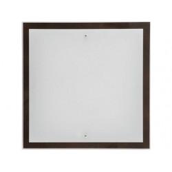 Nowodvorski 2904 OSAKA square wenge L, nástenné/stropné svietidlo
