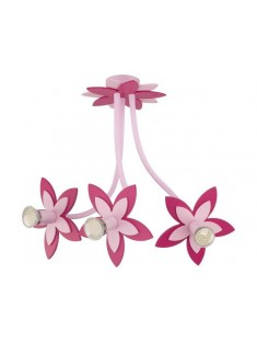 Nowodvorski 6894 FLOWERS PINK, stropné svietidlo