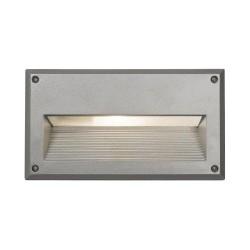 Nowodvorski 4966 BASALT silver, vstavané svietidlo, IP44