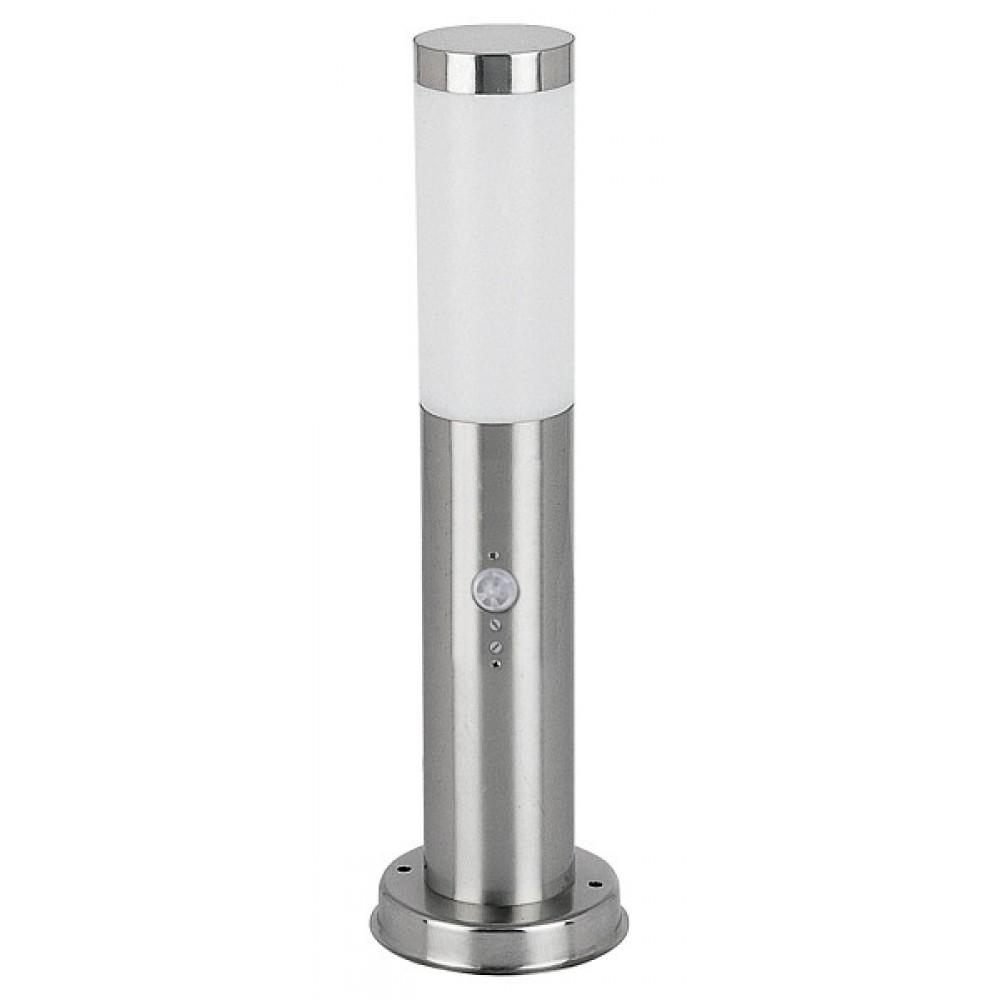 Rábalux 8267 Inox torch, stojacia lampa, vonkajšia, so senzorom pohybu